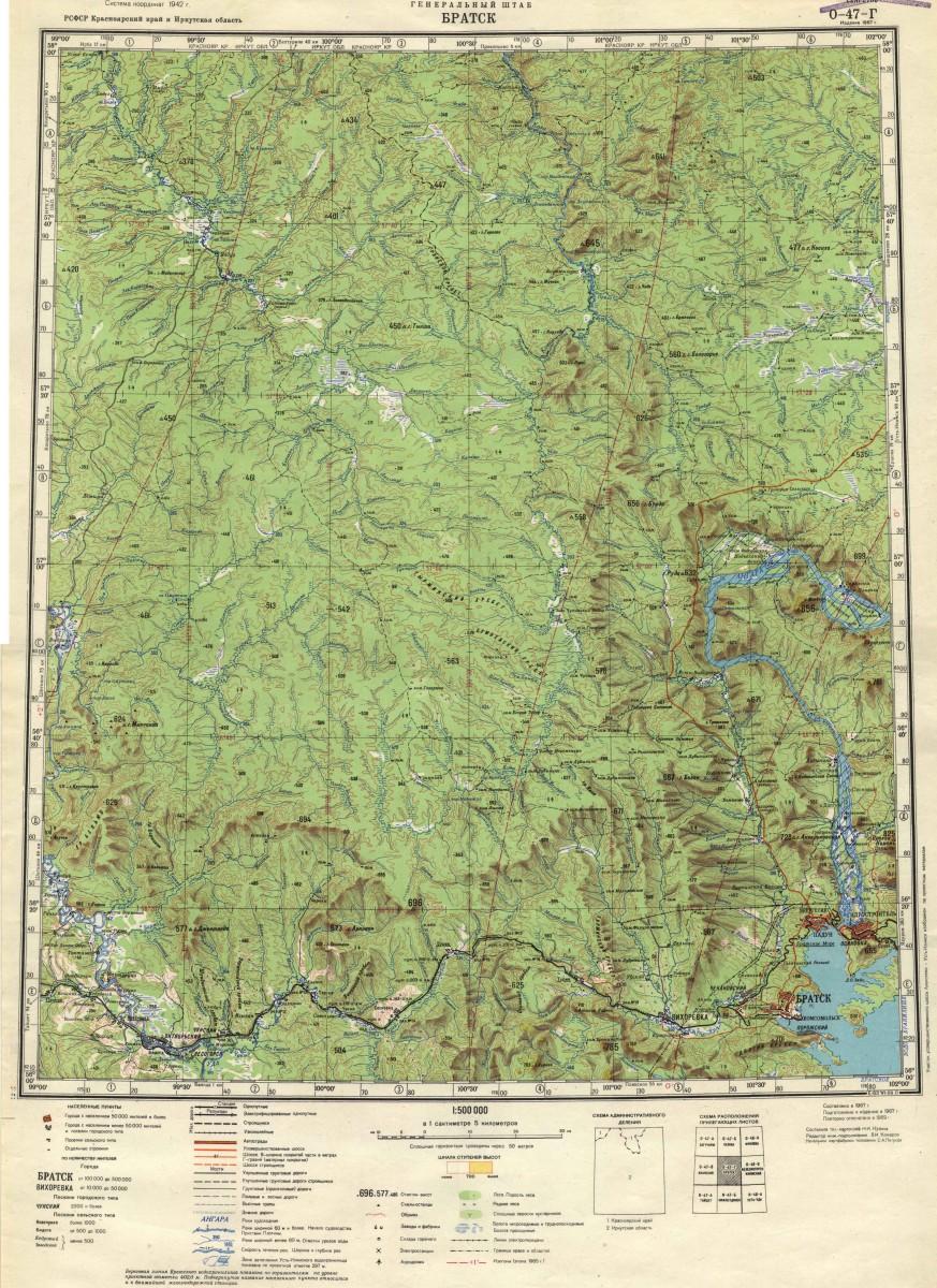 карта низовий