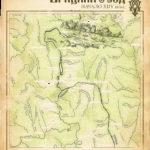 Карта Братского уезда. Начало 17 века.