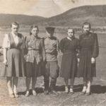 Чернореченская молодежь на берегу Оки
