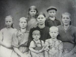 Семейство Поздняковых -Бобриковых