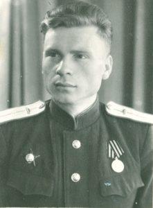 Ветеран села Наратай Садовников Семен Иванович