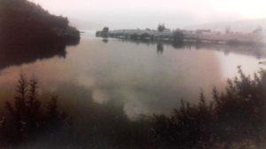 Место впадения р.Вихоревка в Ангару
